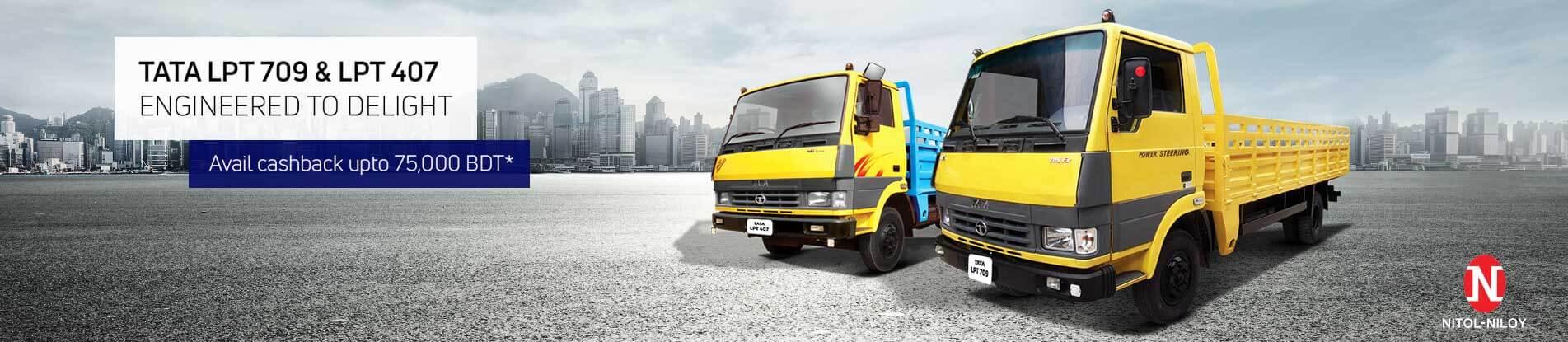 Tata LPT 709 & LPT 407